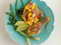 Mariniertes Hähnchen mit fruchtiger Salsa