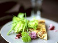Maronitarte mit Salat