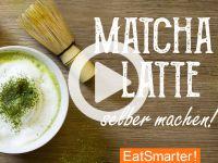Matcha Latte selber machen Video