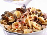 Meeresfrüchte-Nudeln