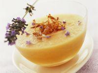 Melonenkaltschale mit Lavendel