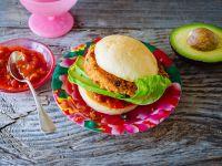 Mexikoburger mit Sojapattie