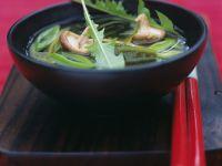 Miso-Suppe mit Shiitake