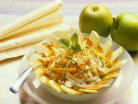 Möhren-Apfelsalat