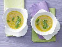 Möhren-Aprikosen-Suppe