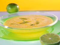 Möhren-Kokossuppe