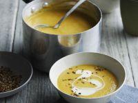 Möhren-Linsen-Suppe