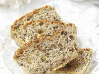 Mohn-Nuss-Brot zu Ostern