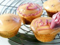 Muffins garnieren mit Glasur