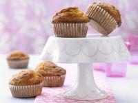 Muffins mit Kürbis und Nüssen