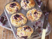 Muffins mit Pflaumen