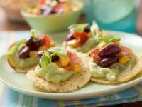 Nachos mit Avocadocreme