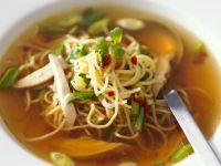 Nudel-Hähnchen-Suppe