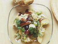 Nudel-Sellerie-Salat mit Apfel