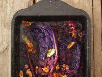 Nuss-Blaukraut aus dem Ofen