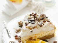 Nuss-Orangencreme-Kuchen