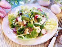 Österlicher Gemüsesalat mit Lauchzwiebeln
