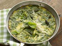 Omelett mit Spargel und Kräutern