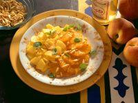 Orangen-Pfirsichsalat