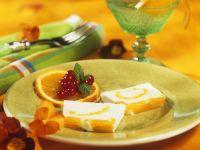 Orangenparfait