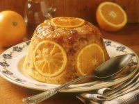 Orangenpudding