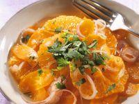 Orangensalat mit Möhren