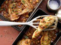 Orientalisches Ofenhähnchen
