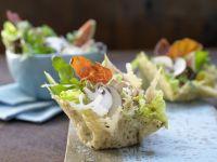Parma-Salat mit Feigen