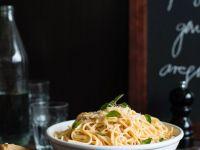 Parmesan-Spaghetti