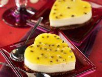 Passionsfrucht-Käse-Kuchen