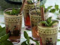 Pfefferminztee auf marokkanische Art