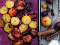 Pflaumenkonfitüre im Ofen gebacken
