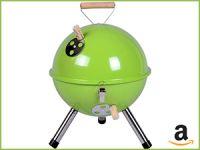 grüner Picknickgrill