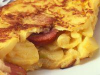 Pikant gefülltes Omelette