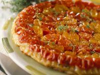 Pikante Tarte Tatin mit Tomaten