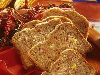 Pikantes Gemüse-Brot
