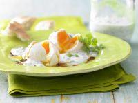 Pochierte Eier