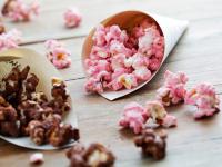 Popcorn selber machen - rosa Popcorn