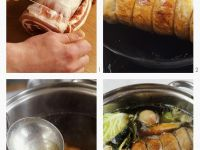 Pot-au-feu mit Schweinebauch zubereiten