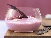 Preiselbeer-Joghurt-Schaum