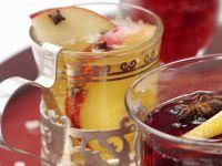 Punsch mit Apfel