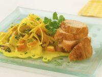 Putenbrust mit Curry-Gemüse