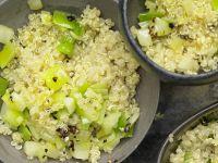 Quinoa mit Lauch