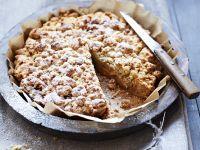 Quittenkuchen mit Streusel