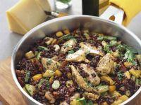 Reis-Hähnchenpfanne