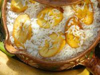 Reis mit gebratener Kochbanane