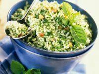Reis mit Kräutern