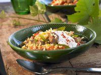 Reisfleisch auf serbische Art