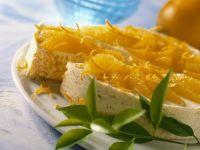 Reiskuchen mit Orangenfilets