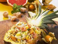 Reissalat mit Meeresfrüchten